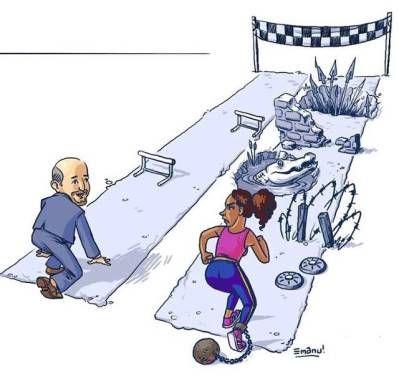 inégalités hommes femmes illu